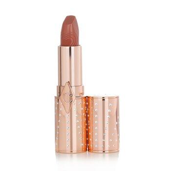 Купить K.I.S.S.I.N.G Refillable Lipstick (Look Of Love Collection) - # Nude Romance (Peachy-Nude) 3.5g/0.12oz, Charlotte Tilbury