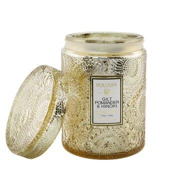 Купить Small Jar Candle - Gilt Pomander & Hinoki 156g/5.5oz, Voluspa