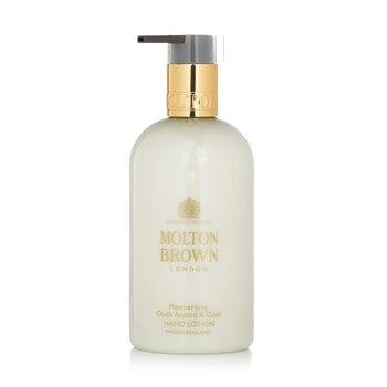 Купить Mesmerising Oudh Accord & Gold Hand Lotion 300ml/10oz, Molton Brown