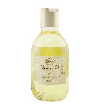 Купить Shower Oil - White Tea (Plastic Bottle) (Package Slightly Damaged) 300ml/10.5oz, Sabon