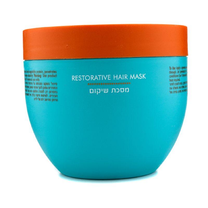 Moroccanoil   摩洛哥坚果油   重组修复发膜 (脆弱受损发质)  滋养发丝与头皮   500ml