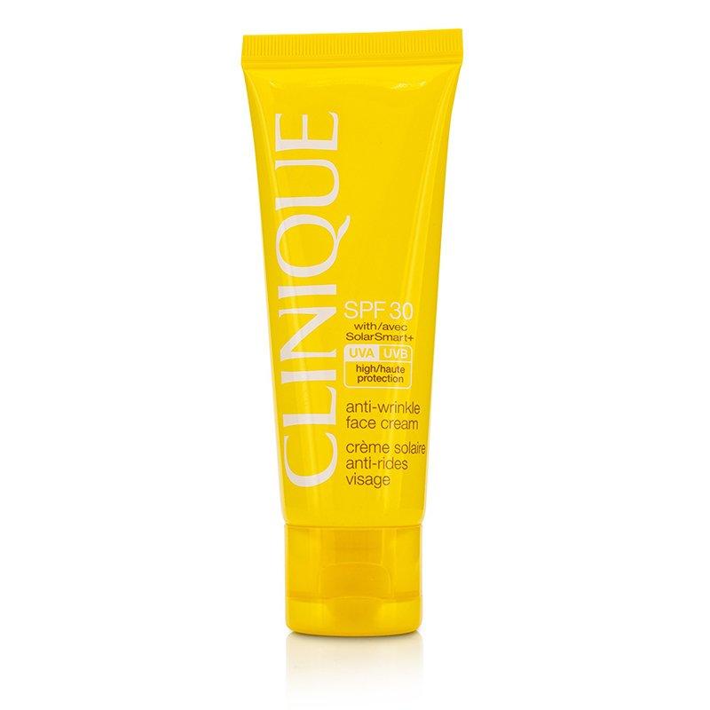 Clinique   倩碧   面部防晒乳  SPF 30   Anti-Wrinkle Face Cream 抑衰老  快速吸收纹理  50ml美国