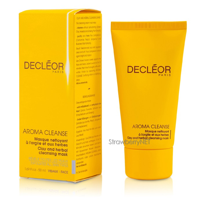 decleor clay and herbal mask 50ml ebay. Black Bedroom Furniture Sets. Home Design Ideas