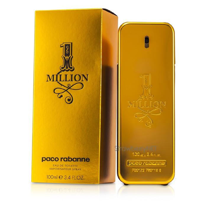 paco rabanne one million eau de toilette spray 100ml ebay