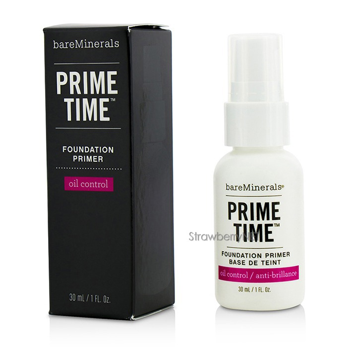 bare escentuals bareminerals prime time oil control. Black Bedroom Furniture Sets. Home Design Ideas