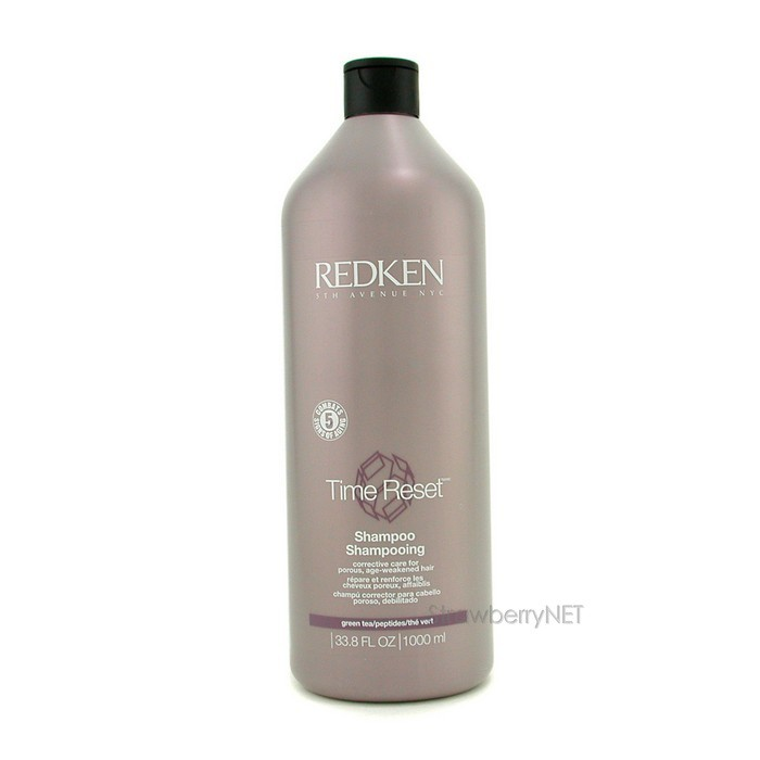 Redken-Time-Reset-Conditioner-Revitalisant-Corrective-Care-Porous-Weakened-1L