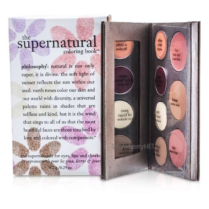Philosophy Supernatural Coloring Book Review : Philosophy The Supernatural Coloring Book 8.2g/0.29oz eBay