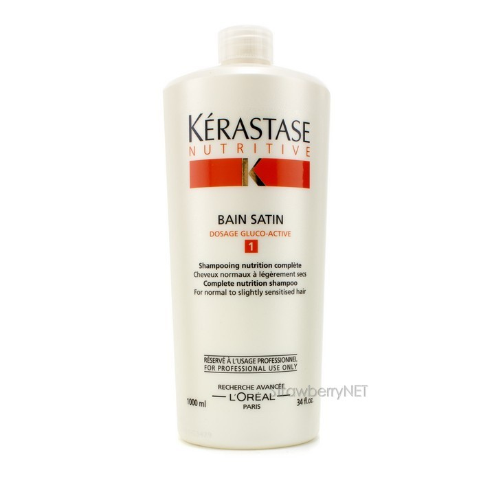 Kerastase nutritive bain satin 1 shampoo normal to for Kerastase bain miroir 1 shampoo