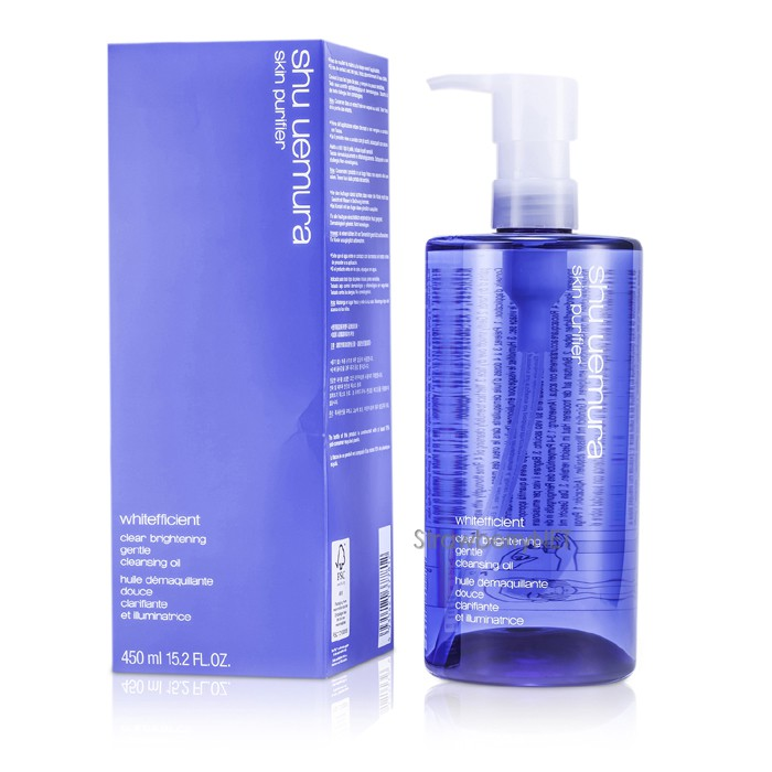 Shu-Uemura-Whitefficient-Clear-Brightening-Gentle-Cleansing-Oil-450ml-15-2oz