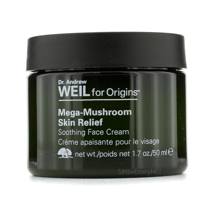 andrew mega-mushroom skin relief soothing face cream 50ml/1.7oz