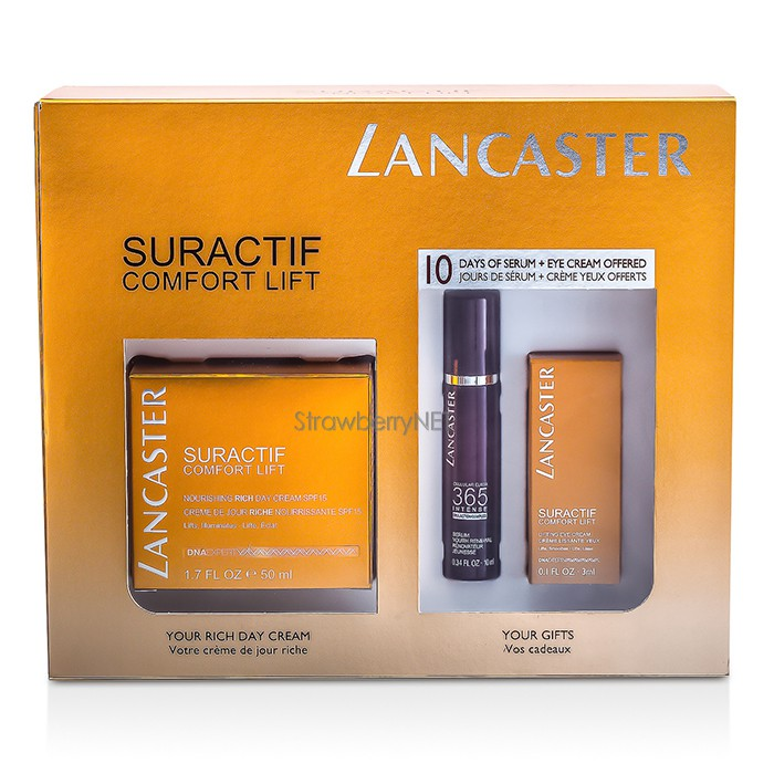 Lancaster-Suractif-Comfort-Lift-Set-Conform-Rich-Cream-50ml-Intense-Serum-10m