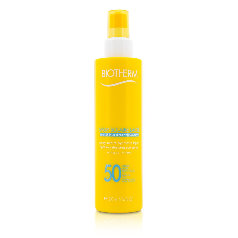 Biotherm 碧欧泉 轻感保湿防晒喷雾 SPF 50 Spray Solaire Lacte  补水 保湿 滋润 舒缓肌肤 200ml法国