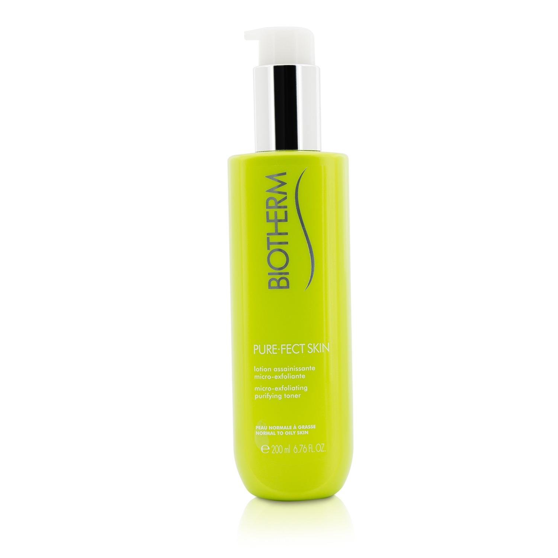 Biotherm 碧欧泉 纯净美肌微磨砂纯净爽肤水(中性至油性肌肤) Pure.Fect Skin 补水保湿 舒缓肌肤  200ml