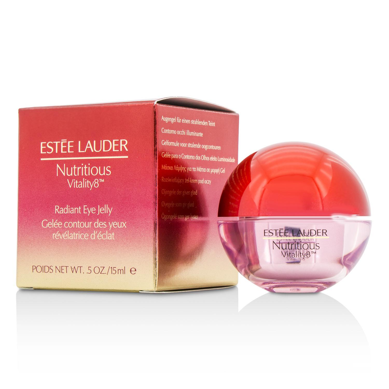 Estee Lauder 雅诗兰黛 鲜活亮采眼部凝露 红石榴眼霜  修护减缓氧化 15ml