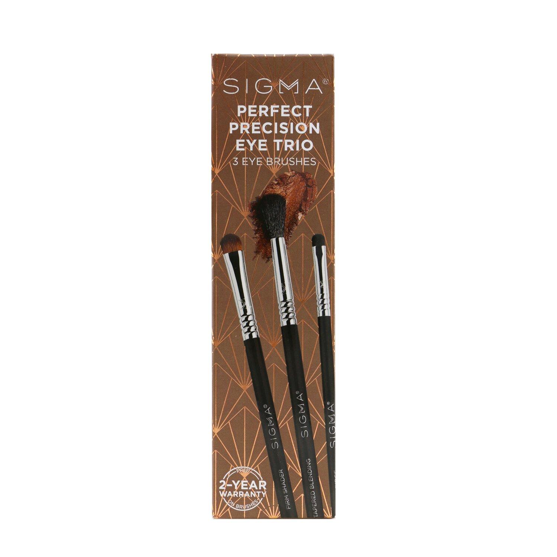 Buy SIGMA BEAUTY - Perfect Precision Eye Trio (3x Eye Brush) 3pcs Singapore
