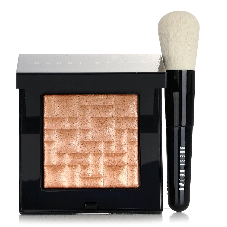 Buy BOBBI BROWN - Highlighting Powder Set (1x Highlighting Powder + 1x Mini Face Brush) - #Bronze Glow 2pcs Singapore