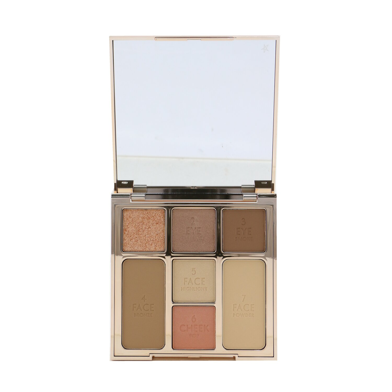Buy CHARLOTTE TILBURY - Instant Look Of Love Look In A Palette (1x Powder, 1x Blush, 1x Highlight, 1x Bronzer, 3x Eye Color) - # Pretty Blushed Beauty 21.5g/0.75oz Singapore