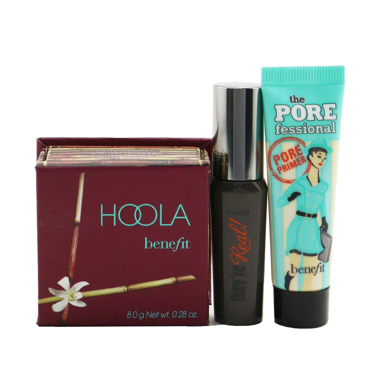 Buy BENEFIT - Party Hopper Set (Primer + Bronzer + Mascara) 3pcs Singapore