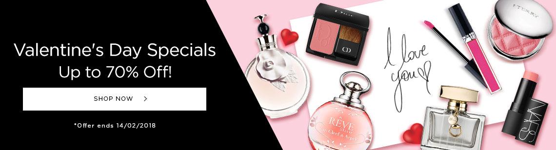 valentine's day specials valentino van cleef & arpel perfume christian dior blush nars multiple dior lipgloss