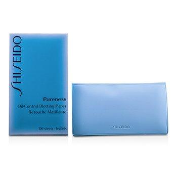 Shiseido Pureness Впитывающие Салфетки против Жирного Блеска 100sheets