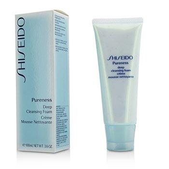 Shiseido Pureness Глубоко Очищающая Пенка 100ml/3.3oz