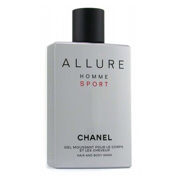Allure Homme Sport Hair & Body Wash (Made in USA) (200ml/6.8oz)