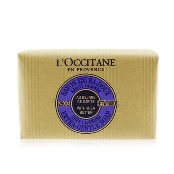Shea Butter Extra Gentle Soap - Lavender (250g/8.8oz)