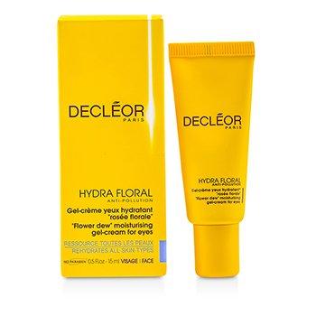 Decleor Hydra Floral Увлажняющий Гель-Крем для Век против Загрязнений 15ml/0.5oz