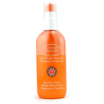 Sun Care Spray Gentle Milk Lotion Progressive Tanning SPF 20 (150ml/5.3oz)