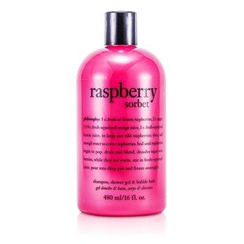 Raspberry Sorbet Shampoo, Bath & Shower Gel (473.1ml/16oz)