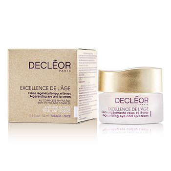 Decleor Excellence De LAge Регенерирующий Крем для Глаз и Губ 15ml/0.5oz