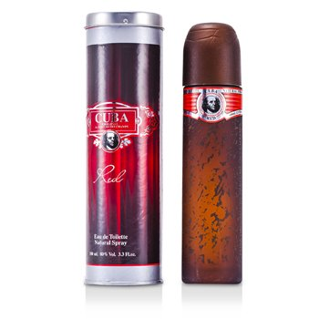 Cuba Red Eau De Toilette Spray (100ml/3.4oz)