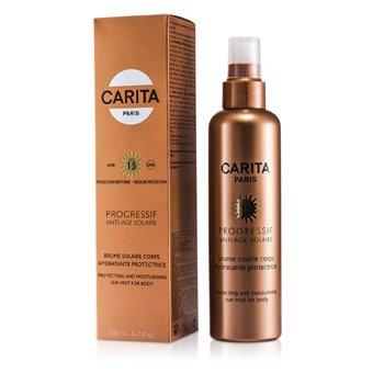 Carita Progressif Антивозрастной Солнцезащитный Увлажняющий Спрей для Тела SPF 15 200ml/6.7oz