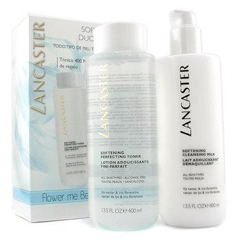 Softening Duo (Limited Edition): Cleansing Milk 400ml + Toner 400ml (2pcs)