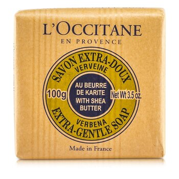 Shea Butter Extra Gentle Soap - Verbena (100g/3.5oz)