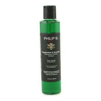 Philip B Мята и Авокадо Очищающий Шампунь для Объема Волос 220ml/7.4oz