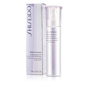 Shiseido White Lucency Perfect Radiance Осветляющая Сыворотка для Шеи и Декольте 75ml/2.5oz