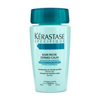 Kerastase Dermo-Calm Bain Насыщенный Шампунь (для Чувствительной Кожи Головы и Сухих Волос) 250мл./8.4унц.