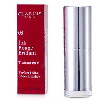 Clarins Joli Rouge Brillant (Сияющая Губная Помада) - # 06 Fig 3.5g/0.12oz