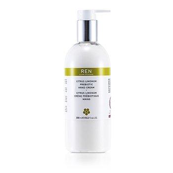 Ren Цитрус и Лимон Пребиотический Крем для Рук 300ml/10.2oz
