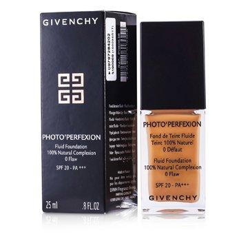 Givenchy Фото Перфекшн Жидкая Основа с Фактором SPF 20 - # 8 Совершенная Амбра 25ml/0.8oz
