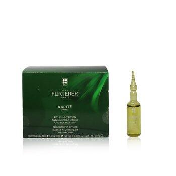 Karite Nutri Nourishing Ritual Intense Nourishing Oil - Very Dry Hair (Box Slightly Damaged) (24x10ml/0.33oz)