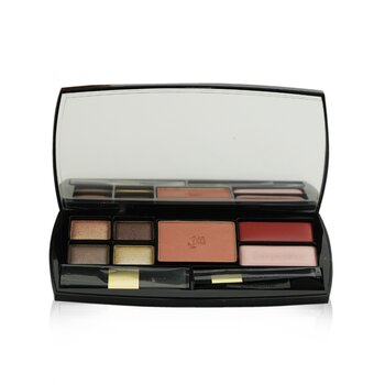 Tendre Voyage Makeup Palette: 4x Eye Shadow + Blush + 2x Lip Color + 3x Applicators (30ml+2.8g)