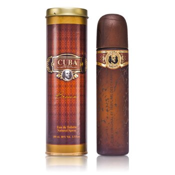 Cuba Brown Eau De Toilette Spray (100ml/3.3oz)