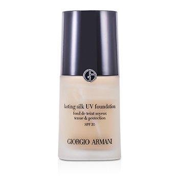 Giorgio Armani 亞曼尼 持久絲光粉底液 SPF20 Lasting Silk UV Foundation SPF 20 - # 4.5 Sand 30ml/1oz - 粉底及蜜粉