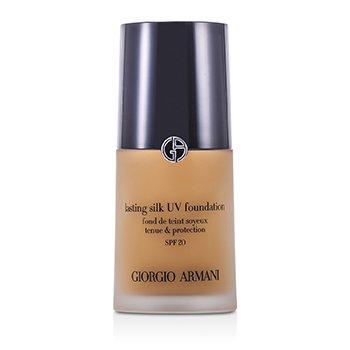 Giorgio Armani 亞曼尼 持久絲光粉底液 SPF20 Lasting Silk UV Foundation SPF 20 - # 6.5 Tawny 30ml/1oz - 粉底及蜜粉