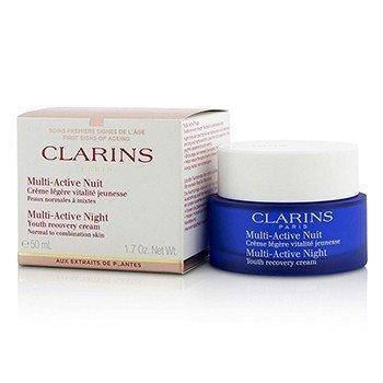 Clarins Мульти-Активный Ночной Омолаживающий Крем (для Нормальной и Комбинированной Кожи) 50ml/1.7oz