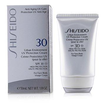 Shiseido Urban Environment Солнцезащитный Крем SPF 30 (для Лица и Тела) 50ml/1.8oz