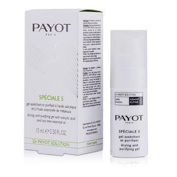 Dr Payot Solution Special 5 Подсушивающий и Очищающий Гель 15ml/0.5oz