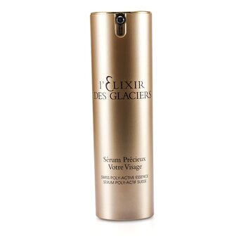 Elixir Des Glaciers Serum Precieux Votre Visage - Swiss Poly-Active Essence (New Packing) (30ml/1oz)